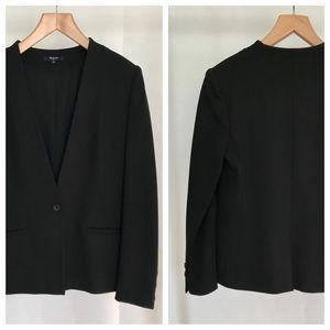 Madewell Tribute black blazer. Size (12) NWOT